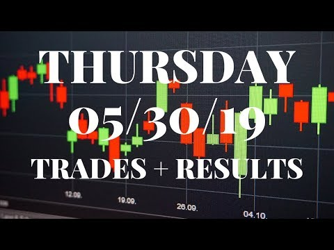 K2 TRADES | Trades And Results For Thursday, May 30, 2019