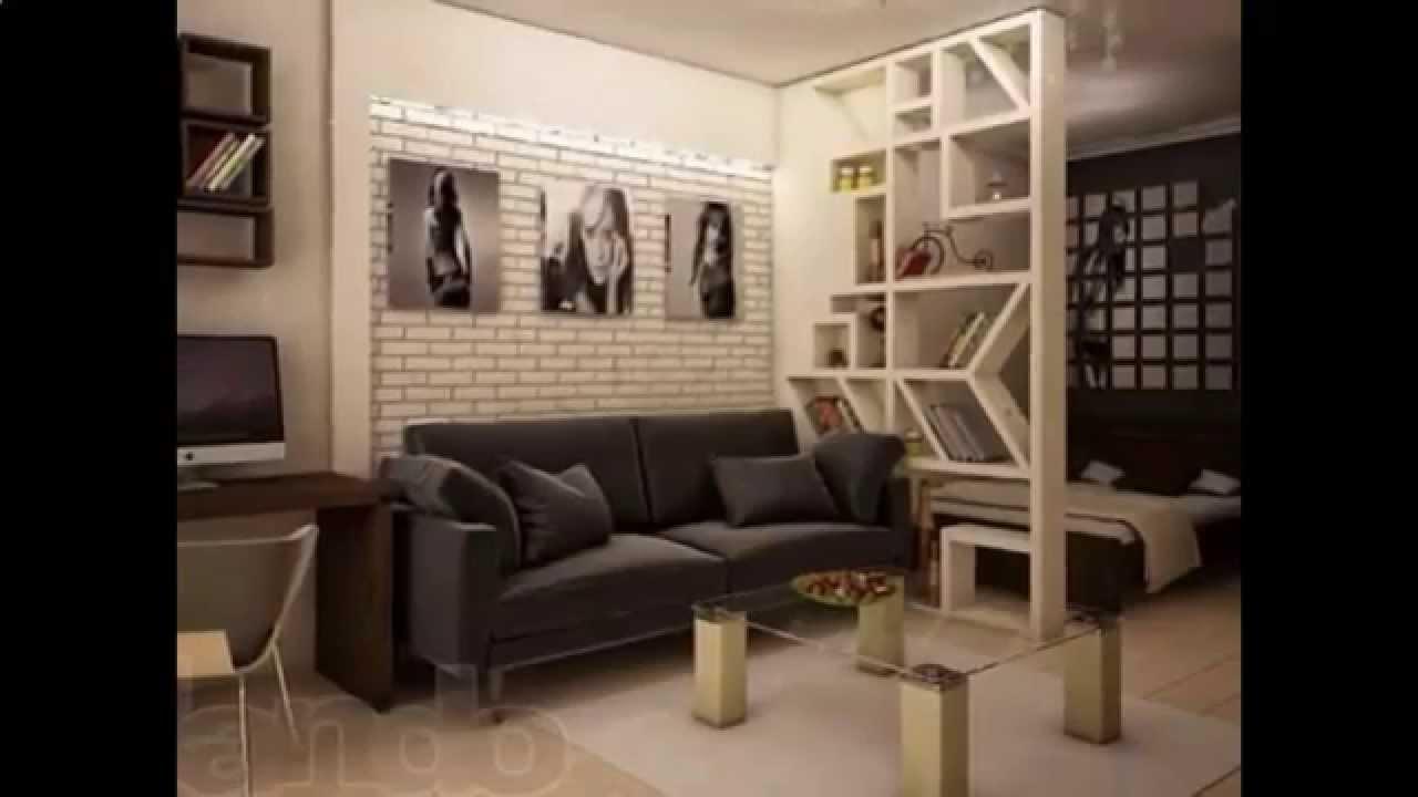 Современный интерьер однокомнатной квартиры - YouTube