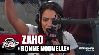 """Zaho """"Bonne nouvelle"""" en live dans Planète Rap"""