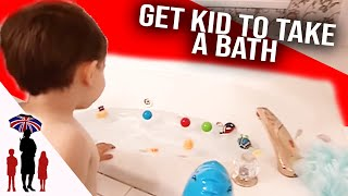 How To Make Bath Time Fun  | Supernanny