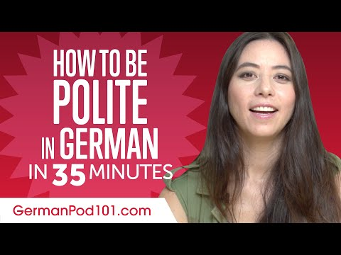 Good Manners: What to Do and Say in German?