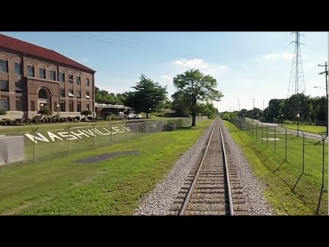 Music City Star Cab Ride - HD Version - Nashville & Eastern Railroad