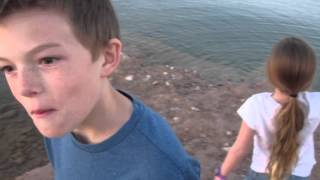 Mermaids and Lock Ness Monster at Lake Mead!