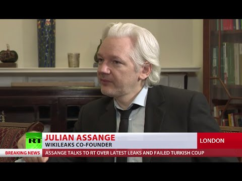 Assange on latest leaks: Alleged Russian hackers not linked to Wikileaks docs (EXCLUSIVE)