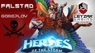 Heroes of the Storm (Gameplay) - The Pirates of Salt Water (HotS Falstad Gameplay Quick Match)