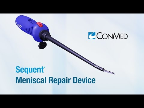 Sequent® Meniscal Repair Device - ConMed Product Video