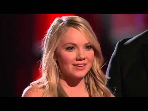 Danielle Bradbery - A Little Bit Stronger - The Voice Performance