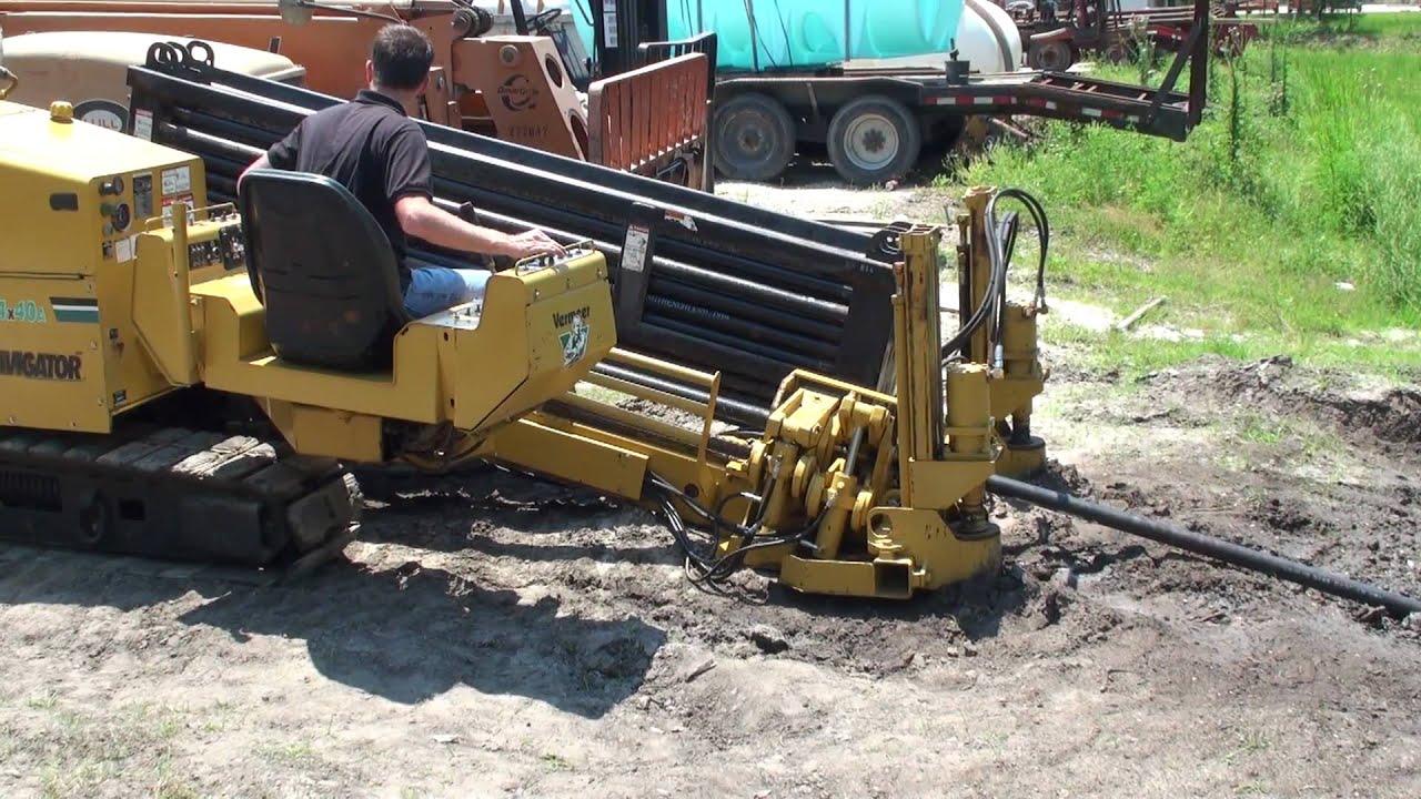 bore machine vermeer