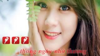 [KARAOKE] Trăng Thề _ Lâm chấn Huy (Beat Gốc)