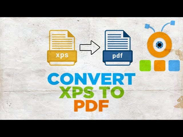 How to Convert XPS to PDF - YouTube