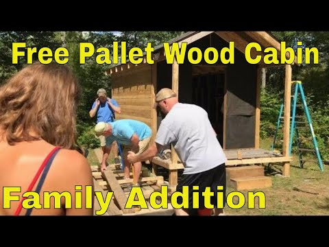 hunting-cabin-built-with-free-pallet-wood-pt.6---mini-cabin