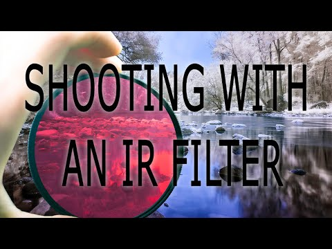 Infrared Photography with an IR filter Tutorial thumbnail
