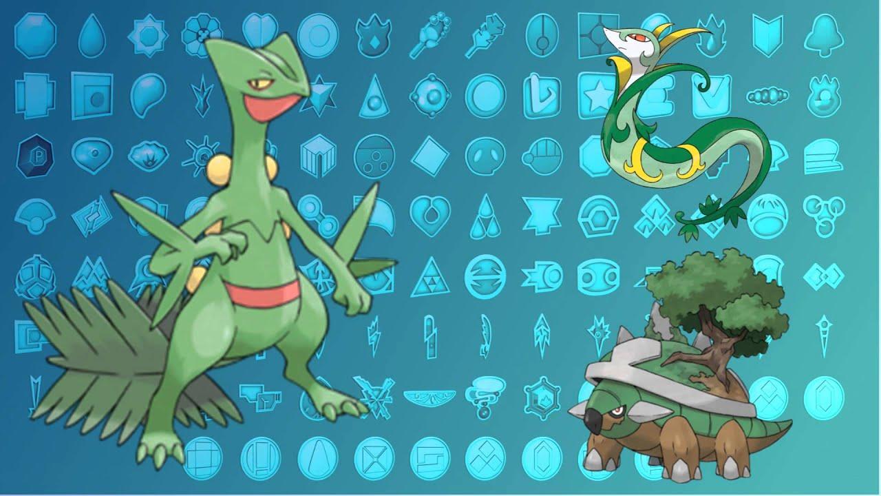 Pokemon Flame War: Sceptile vs Torterra vs Serperior ...