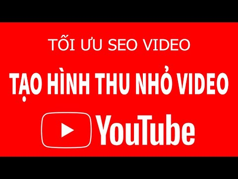 Thiết kế Hình thu nhỏ Video, Thumbnail Video trên YouTube cực đẹp | YouTube SEO 2020