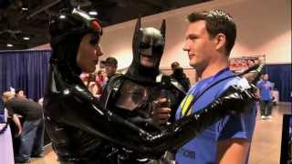 CATWOMAN SEDUCES INTERVIEWER (Full Interview)