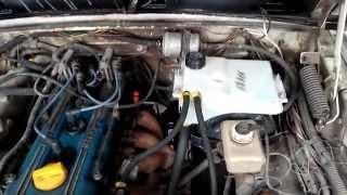 Чистка радиатора, замена расширительного бачка и охлождающей жидкости