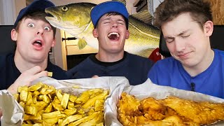 One of JOLLY's most viewed videos: BEST Fish and Chips in England!?!