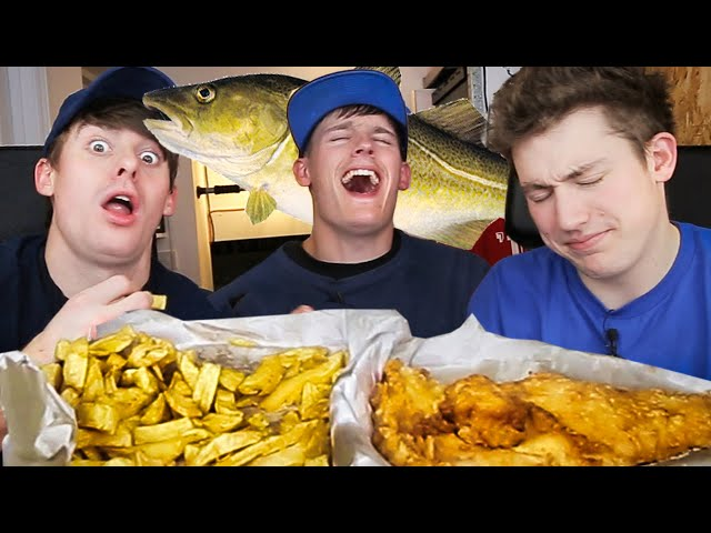 BEST Fish and Chips in England!?!