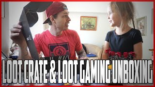 Loot Crate & Loot Gaming Unboxing | MAKE A WISH ON THE DRAGON BALLS