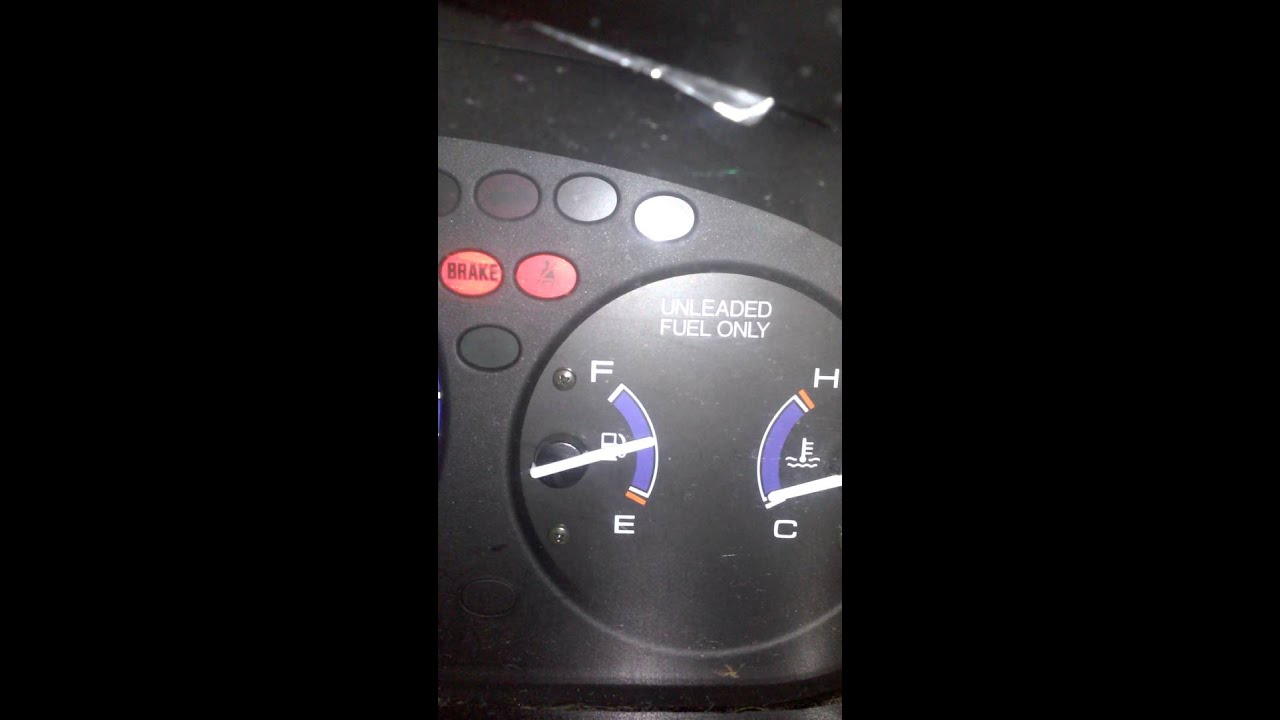 1997 Civic Fuel Gauge Problems