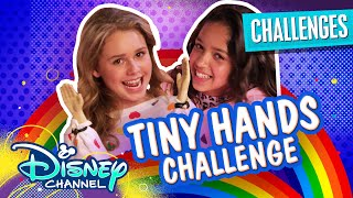 Tiny Hands Challenge 👐🏼 | Ruth & Ruby Ultimate Sleepover | Disney Channel