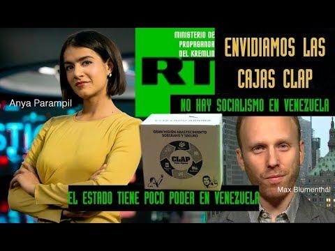 """Periodistas en Telesur: """"En Venezuela hace falta mas socialismo"""" """"El estado tiene que tener mas poder"""""""