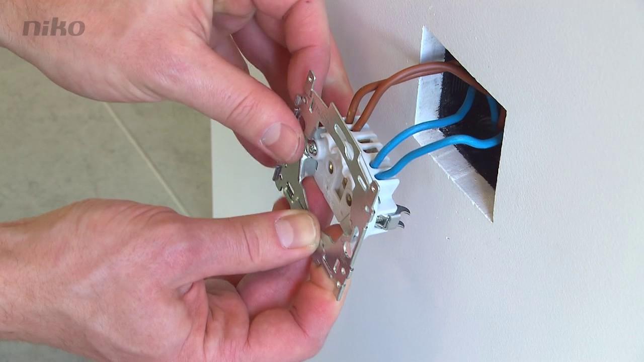 Comment installer une prise sans terre niko original - Installer une prise de terre dans une maison ...