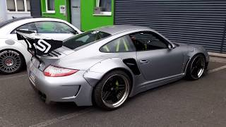 Sidney Industries - Liberty Walk Porsche 997 & RAUH Welt Porsche 993