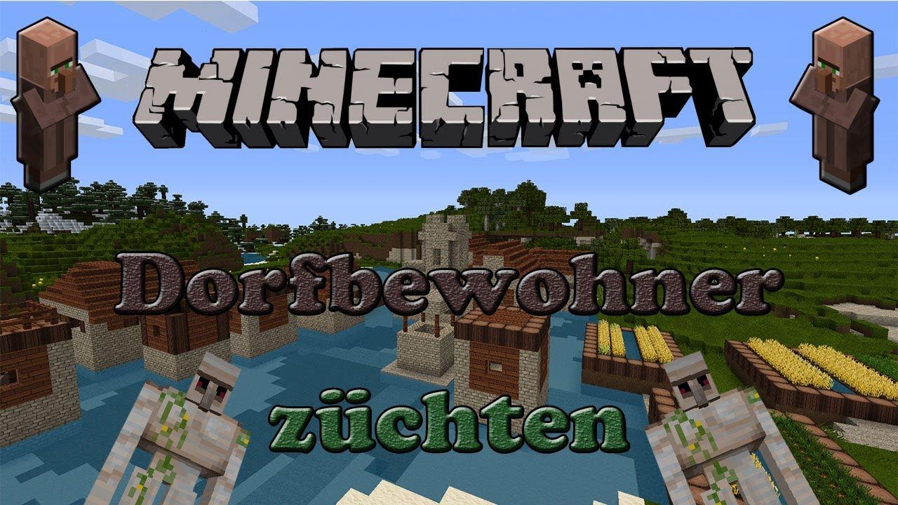Minecraft Dorfbewohner Züchten GermanHD YouTube - Minecraft dorfbewohner bauen hauser mod