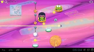 Cut The Rope Time Travel SeaSon 7 - Disco Era Level 7.1-7.15