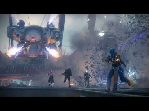 Destiny Rise of Iron Soundtrack Siege Engine (with the guitar part)