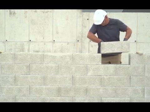 Les bons gestes en maçonnerie : blocs à bancher