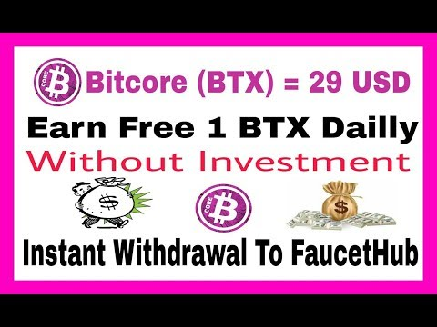 Earn Free 1 BTX Dailly,  Without Investment