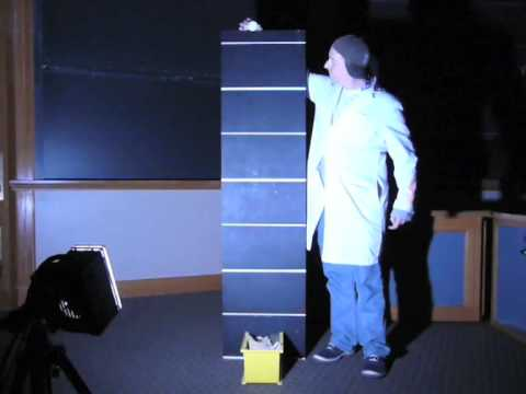 MIT Physics Demo Strobe Of A Falling Ball YouTube
