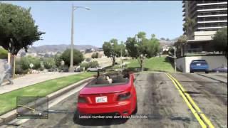 GTA V (5) Michael/Franklin: Chasing a Boat on Freeway