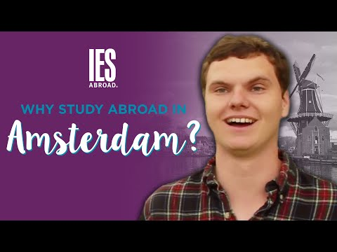 AMSTERDAM | Study Abroad | Why study abroad in Amsterdam?