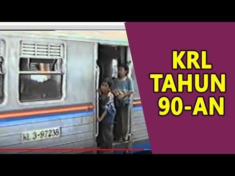 Transportasi KRL Jakarta Tahun 1996 - Stasiun Cikini 1998