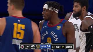 Denver Nuggets vs Los Angeles Clippers | August 12, 2020