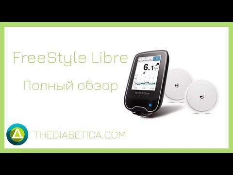 FreeStyle Libre система мониторинга глюкозы / Фристайл Либре / Полный обзор