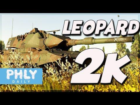 LEOPARD 2K | 120mm Smooth German ENGINEERING (War Thunder Tanks 1.77 Gameplay)