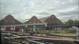 A 1962 Stock Rail Adhesion Train was at the Ealing Common Depot