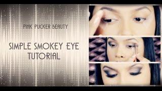 EASY Smokey Eye TUTORIAL for BEGINNERS + False Lashes Application! Thumbnail
