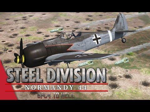 3rd APT Round 2 LB! Steel Division: Normandy 44 - AmberT vs Nicholas Fricke (Carpiquet, 1v1)