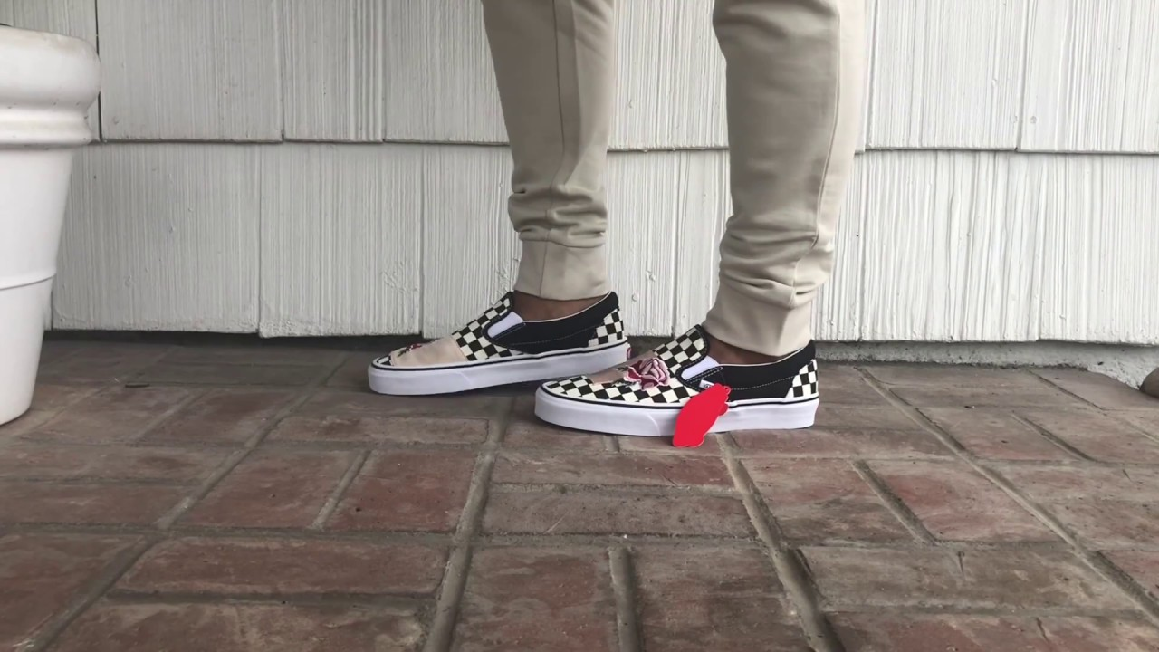 dd2b826a22 On Feet Review  Vans Patchwork - YouTube