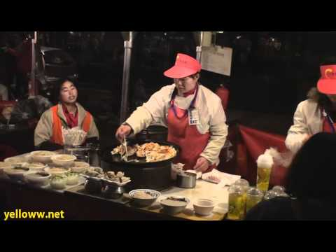 Donghuamen Night Market in Beijing China