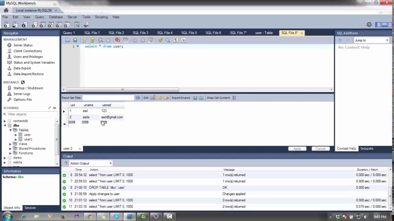 Java web project using jsp, servlet, mysql, Eclipse, MVC(CRUD operation)
