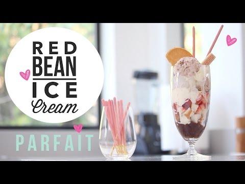 Red Bean Ice Cream ♥  Easy 3 Ingredient, No Churn Recipe