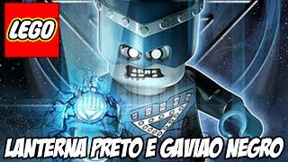 Lego Batman 3 - Gavião Negro e o Lanterna PRETO