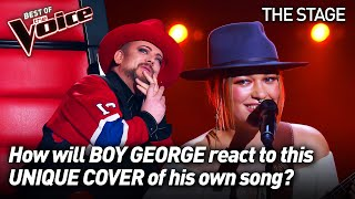 Vendulka Wichta sings 'Karma Chameleon' by Culture Club | The Voice Stage #60