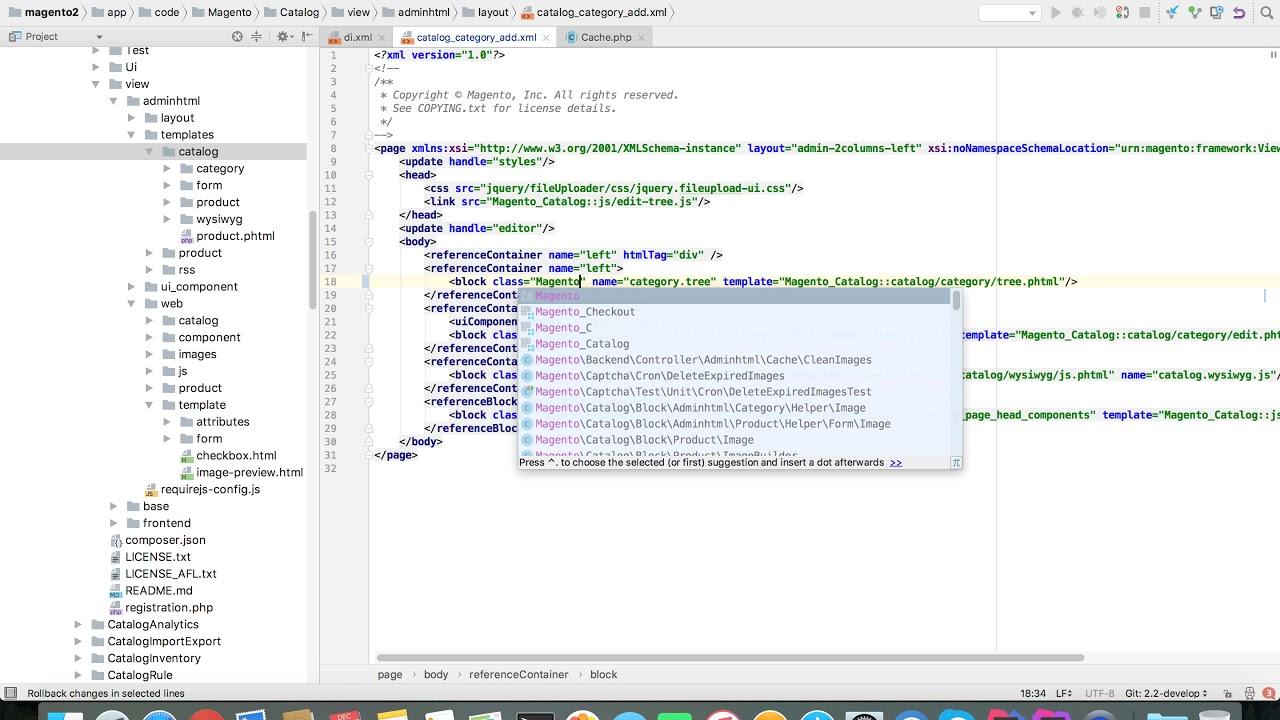 magento phpstorm plugin xml completion contributor youtube